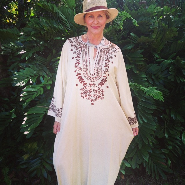 Branching off of the family tree and out of your comfort zone to find your life's purpose By Mali Hayes mali first kaftan from India