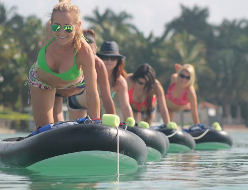 Fitness & Yoga Paddle : The New Miami Trend!