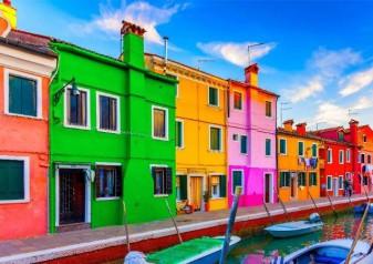 "SPRING 2015 ""COLOR ME CANDY"" INSPIRED BY BURANO ISLAND, VENICE, ITALY By Viviana Gabeiras"