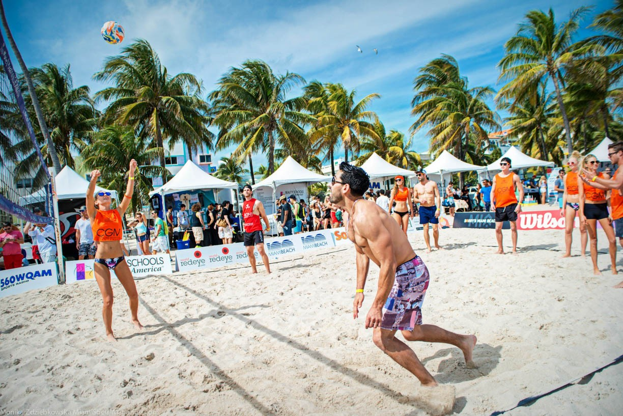 LeSutra Model Beach Volleyball Tournament Hosted By Nina Agdal a