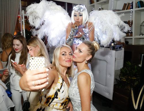 Villa Azur Celebrated its Anniversary with an All White Bash